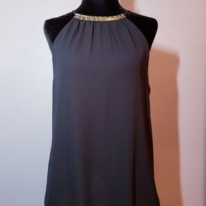 Black Guess Halter Style Top